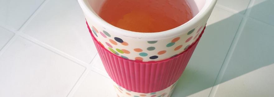 Wine in a coffee mug