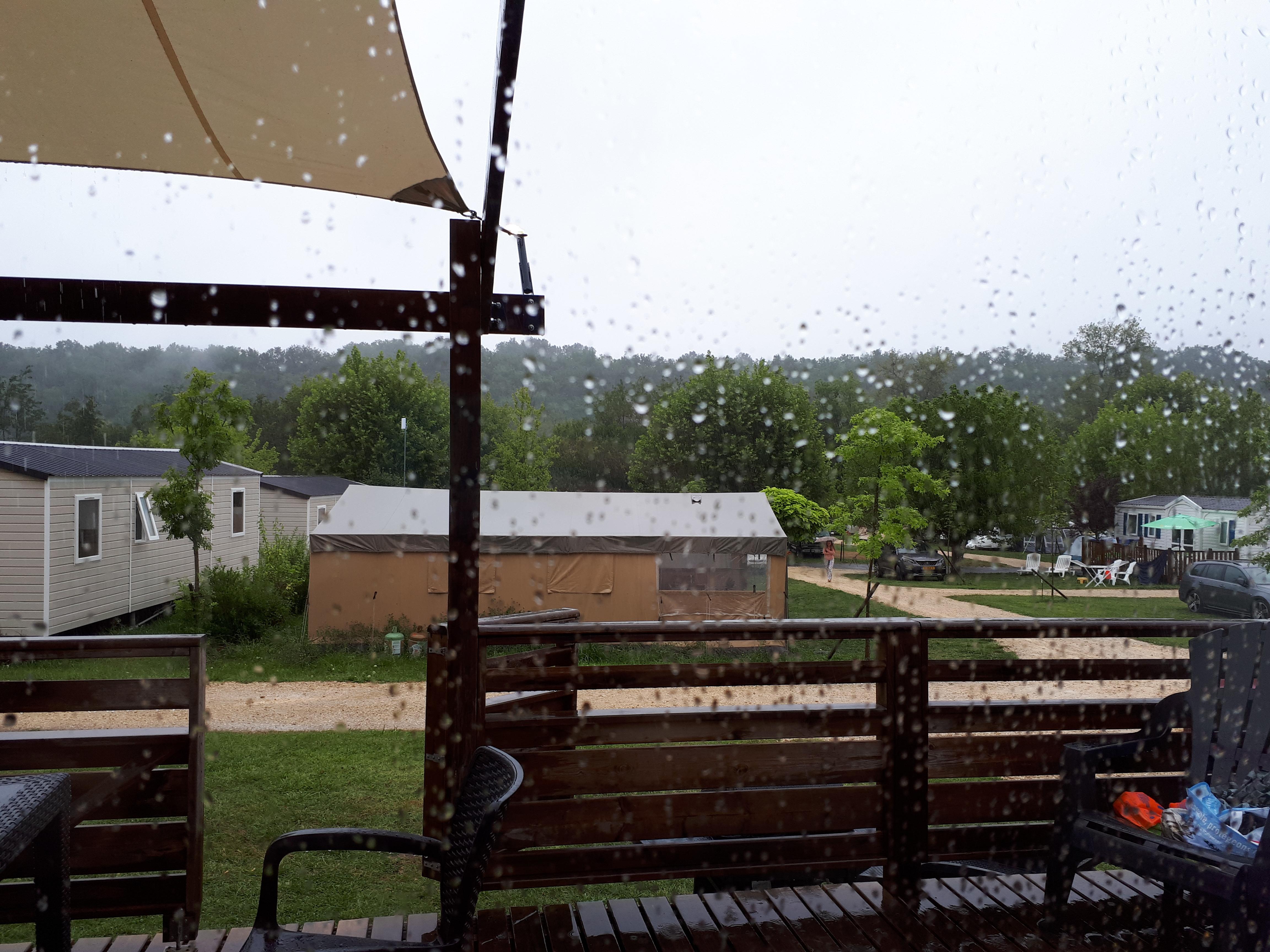 rainy holiday morning