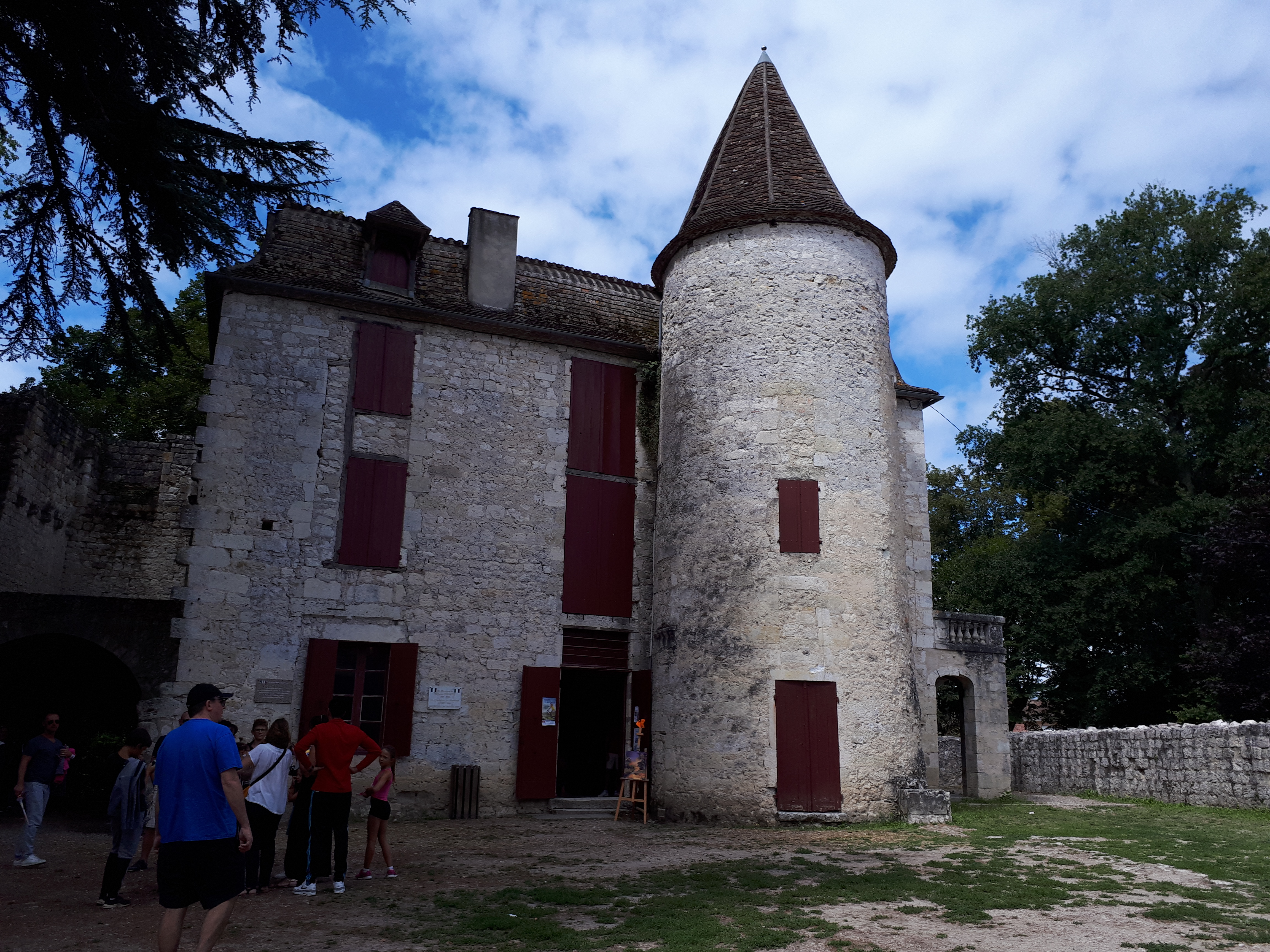 Eyrat manor or chateau