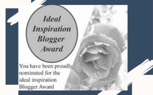 Ideal Inspiration Blogger Award