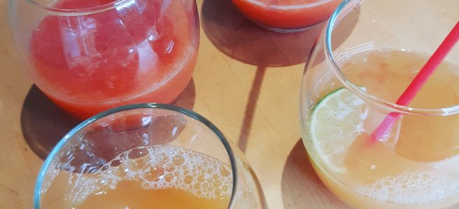Fruit Fizz and Citrus Squeeze